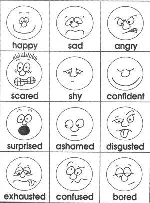 emotions coloring pages for toddlers freebie page lots of other ideas too go back to this blog