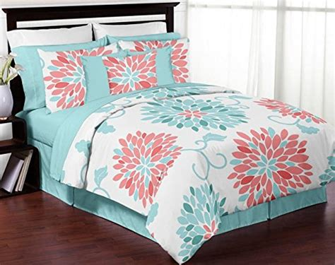 coral and turquoise bedding teen bedding webnuggetz com