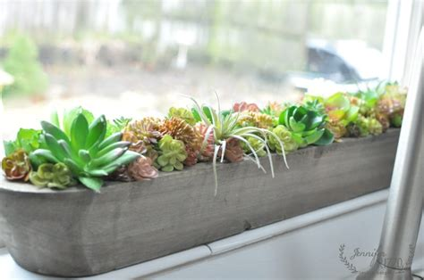 indoor window sill planter succulent windowsill planter for winter color jennifer