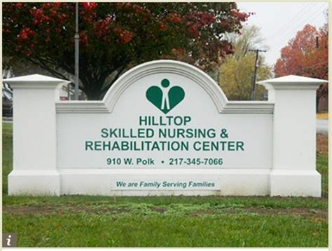 hilltop skilled nursing rehabilitation nursing homes