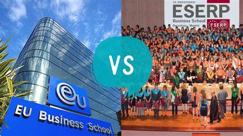 Eu Business School Munich Mba by Eu Business School Vs Eserp Business School Eduopinions