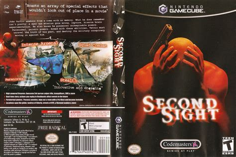 emuparadise game ps2 second sight iso
