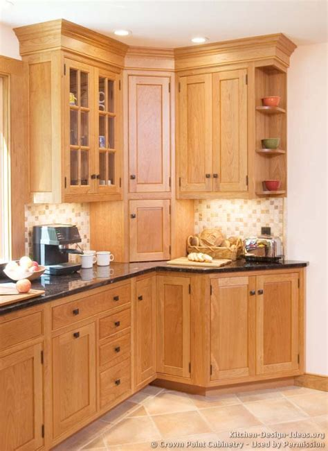 Mission Style Kitchen Cabinet Hardware by Pictures Of Kitchens Traditional Light Wood Kitchen