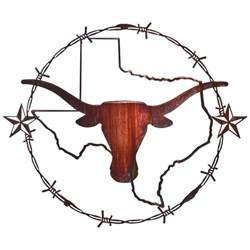 lazart 174 texas longhorn wall art honey pinion 208033