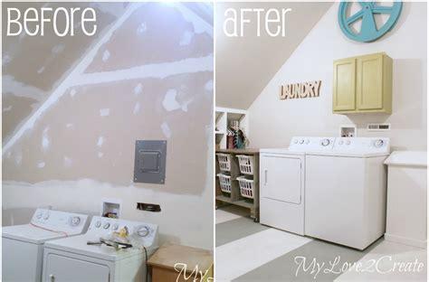 Fun Bathroom Ideas Closet Laundry Room Makeover My Love 2 Create