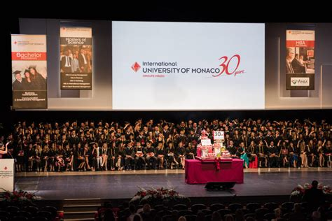 International Of Monaco Mba by Graduation Ceremony 2016 30th Anniversary Time Of