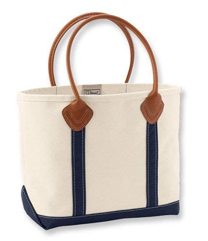 ll bean canvas tote leather handles leather handle boat and tote ii tote bags free shipping