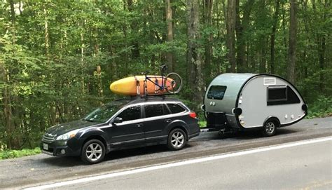 towing with subaru outback does any tow t b with 4 cylinder subaru outback