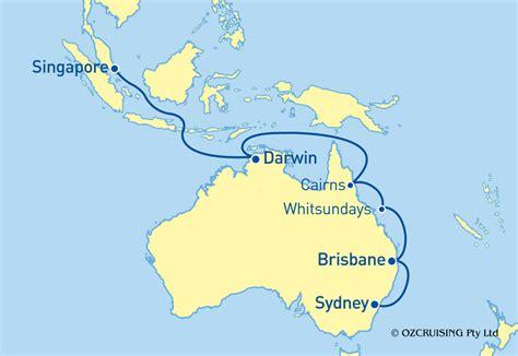 cruises november 2019 voyager of the seas singapore to sydney cruise in november