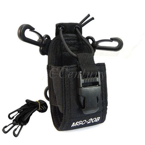Tas Walkie Talkie For Baofeng Msc 20b Black taffware tas walkie talkie for baofeng msc 20b black