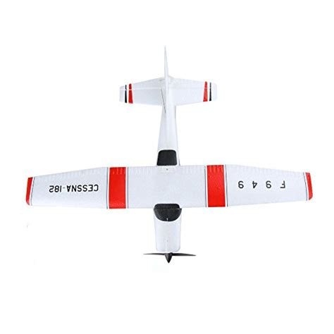 Rc Pesawat Cessna 182 Wltoys F949 3ch 24g Original Wltoys F949 2 4g 3ch Rc Airplane Fixed Wing Plane
