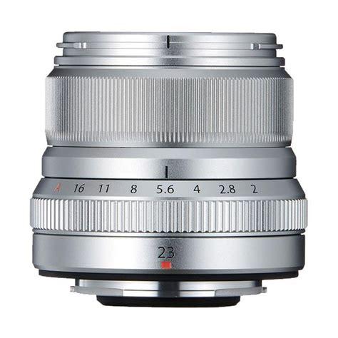 Lensa Fujifilm 23mm jual fujifilm fujinon xf 23mm f2 r wr lensa kamera