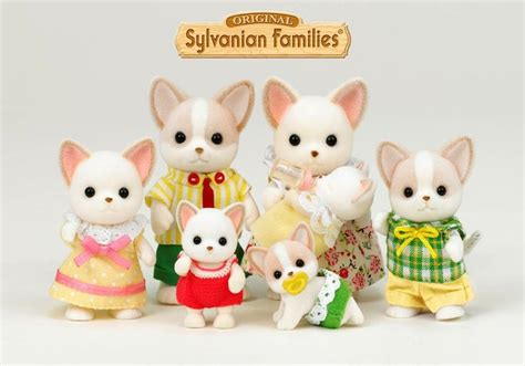 Sylvanian Families Original 3242 Chihuahua Baby 151 best calico critters sylvanian families images on sylvanian families calico