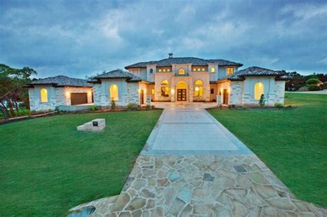 Ranch Home Plans With Pictures 2 475 million newly built stone amp stucco home in austin