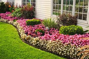 Garden Flower Beds Flower Beds And Add Colour To Your Home Decorifusta