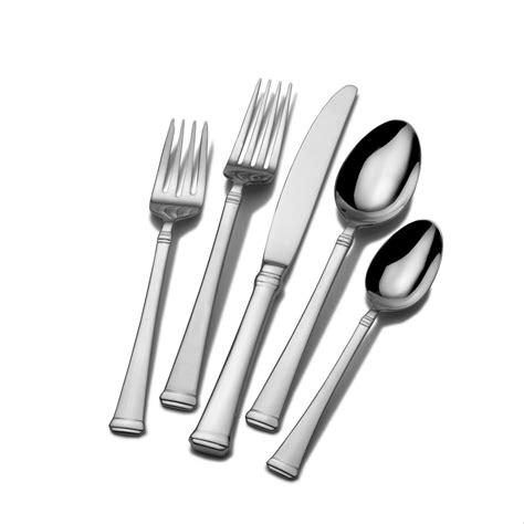 flatware sets amazon com mikasa lucia 20 piece stainless steel flatware