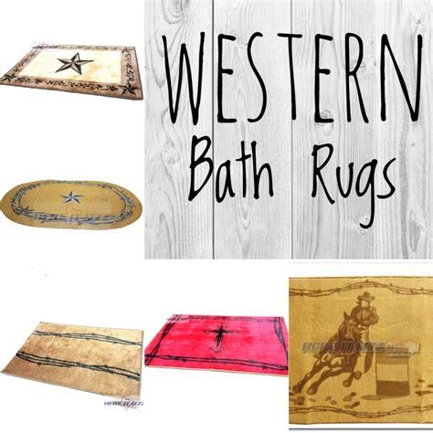 western bathroom rugs western bath rugs