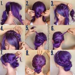 Cute Hairstyle Step By Step by Step By Step For A Romantic Braided Updo Hairspiration