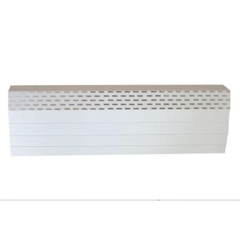 neatheat 6 ft water hydronic baseboard cover not for