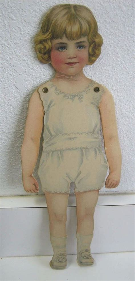 jointed dolls e bay antique large paper doll jointed ebay