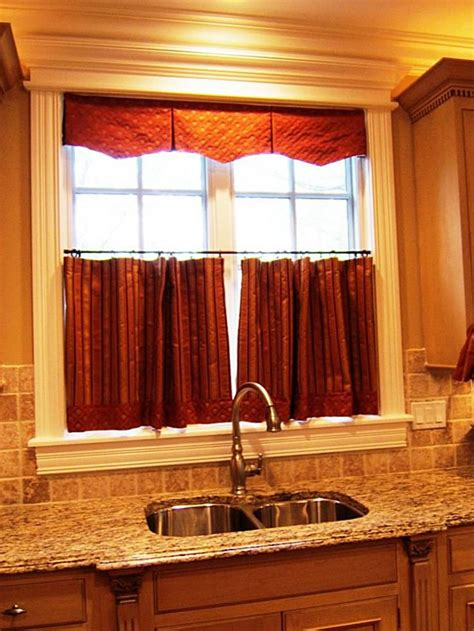 Curtain For Kitchen Window Cafe Curtains Kitchen And Pantry