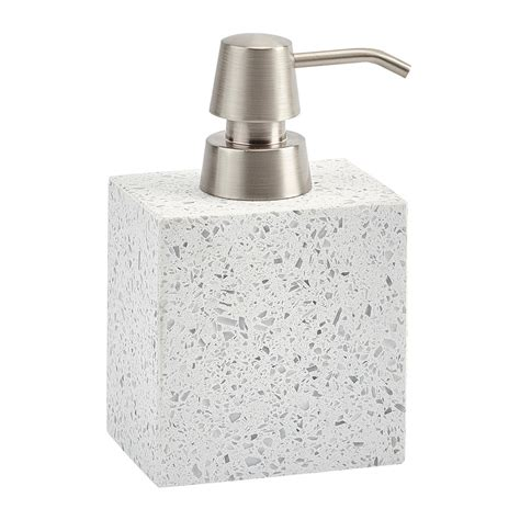 Quartz Bathroom Accessories Buy Aquanova Quartz Soap Dispenser White Amara