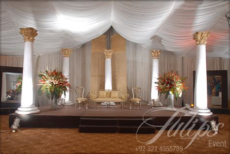 Wedding Organizer Lahore by Tulips Event Best Wedding Stage Decoration