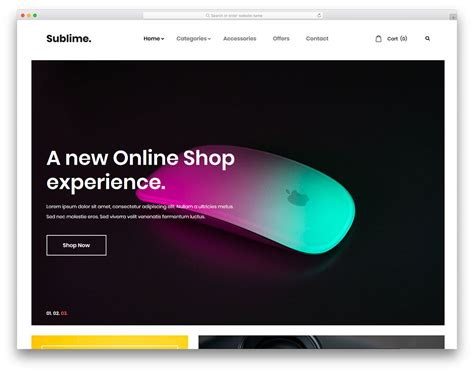 22 Best Free Ecommerce Website Templates In 2018 Uicookies Best Ecommerce Website Templates Free