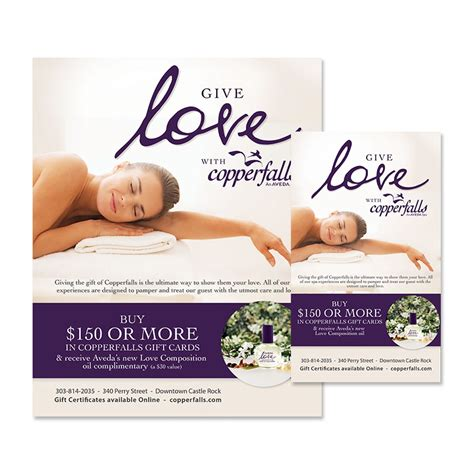 Aveda Gift Cards - aveda spa gift certificates gift ftempo