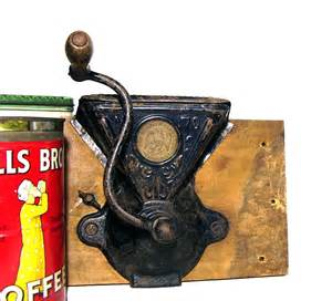 Charles Coffee Grinder Antique Coffee Grinder 1920s Cast Iron Charles Co