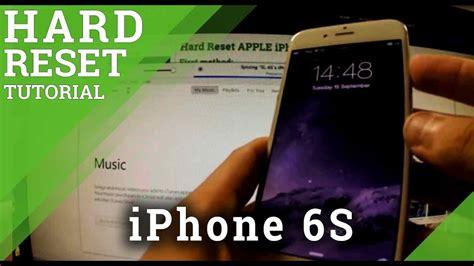 hard reset apple iphone    restore  iphone youtube