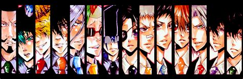 M Anime List by Anime All Together Images Khr Hd Wallpaper And Background