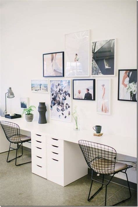 two person office desk best 25 two person desk ideas on 2 person
