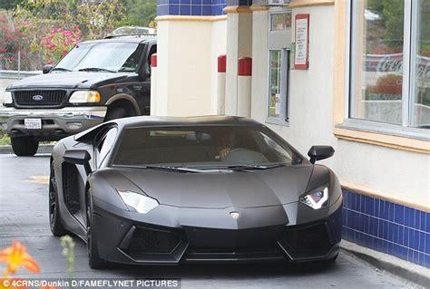 Kanye West Lamborghini Kanye West Picks Up Mcdonald S Drive Thru In His 750k