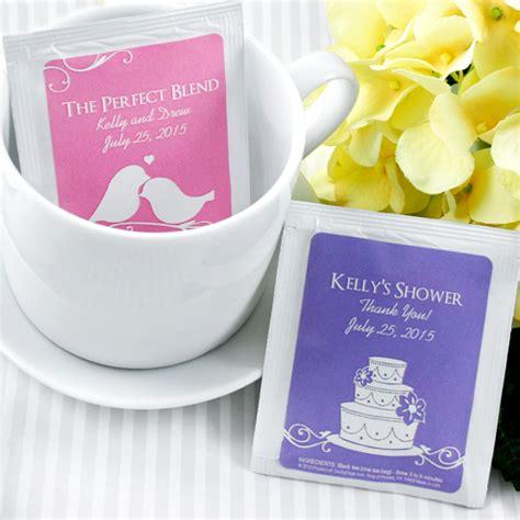 personalized bridal shower tea bag favors personalized silhouette tea bag favor personalized wedding tea favors edible wedding favors