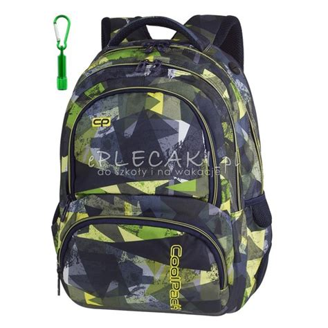 Cp Abstrak plecak szkolny coolpack cp spiner lime abstract limonka