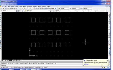 tutorial autocad untuk pertambangan tutorial autocad penggunaan perintah array pada autocad 2007