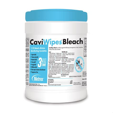 caviwipes bleach wipes hopkins medical products