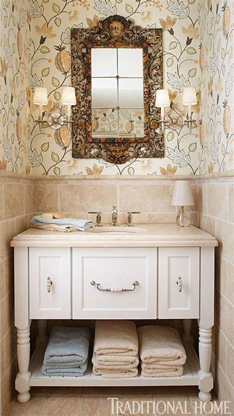 window decor powder room create a smashing powder room traditional home