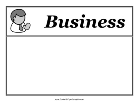 free printable flyers templates for business business flyer