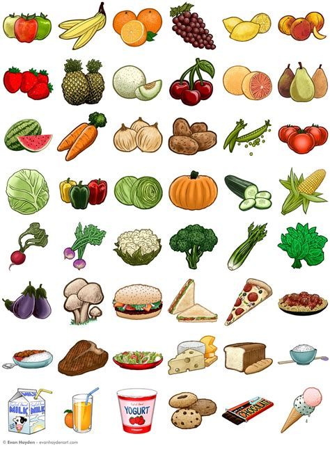 Color Picture Dictionary evan hayden hello picture dictionary food