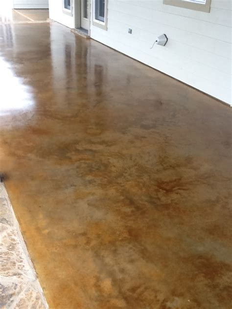 stain concrete ideas  pinterest stained