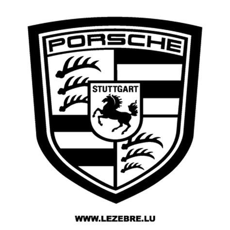 Porsche Sticker Aufkleber by Sticker Porsche Logo