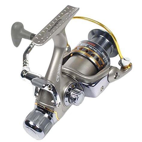 Yoshikawa Aluminum Spinning Reel Grey 2 buy yoshikawa carp sea fishing reel bait runner spinning reel aluminum spool handle 11
