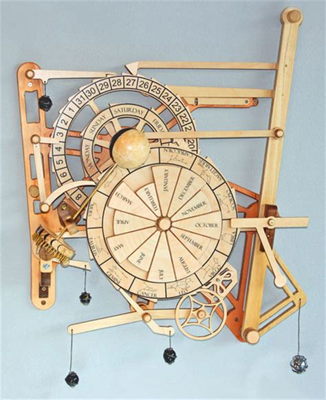 Wooden Clock To Build