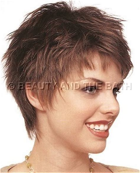short haircuts for women over 50 side view side view short layered hairstyle thin hair like