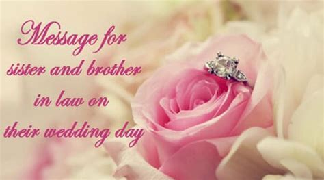 Best Wishes and Message for Sister and Brother in Law on