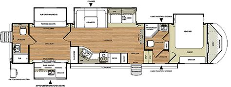 3 Bedroom 5th Wheel by Fifth Wheels By Forest River Forest River Inc