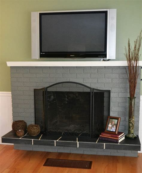 fireplace update ideas how to update brick fireplace with paint