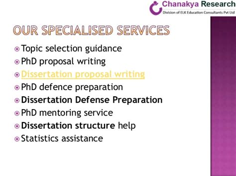 dissertation assistance chanakya research phd dissertation help